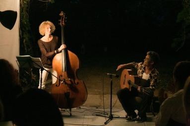 Musiksalon #1 Gina Schwarz & Angelo da Silva / 2017