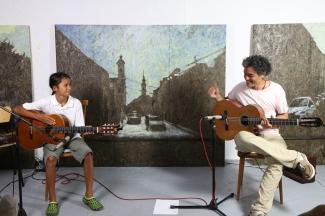 Musiksalon #2 / Special guest Tobias & Angelo da Silva
